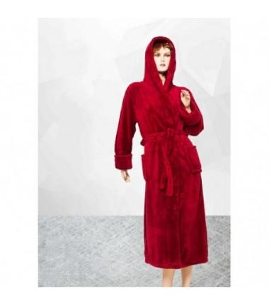 Женский махровый халат больших размеров