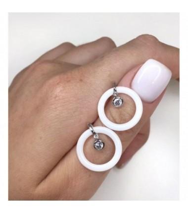 Серьги ring