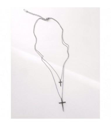 Двойная цепочка с крестиком